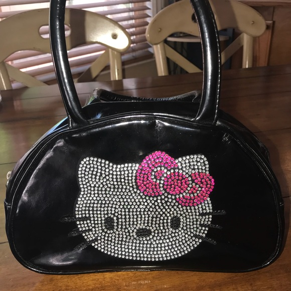 d984d5750d Hello Kitty Handbags - Hello Kitty rhinestone purse